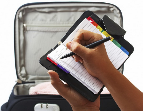 Как составить упаковочный лист для упаковки чемодана