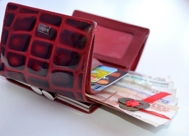 Красный кошелек и три монетки фэн-шуй
