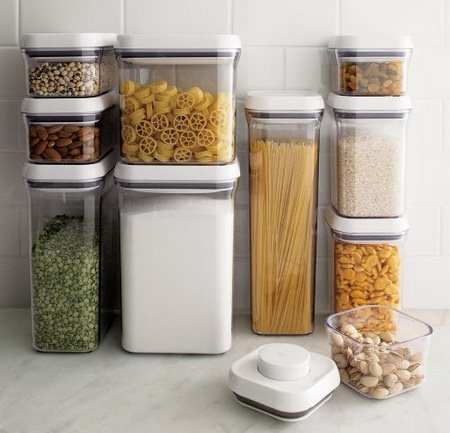 как хранить крупы, макароны и другие сыпучие продукты