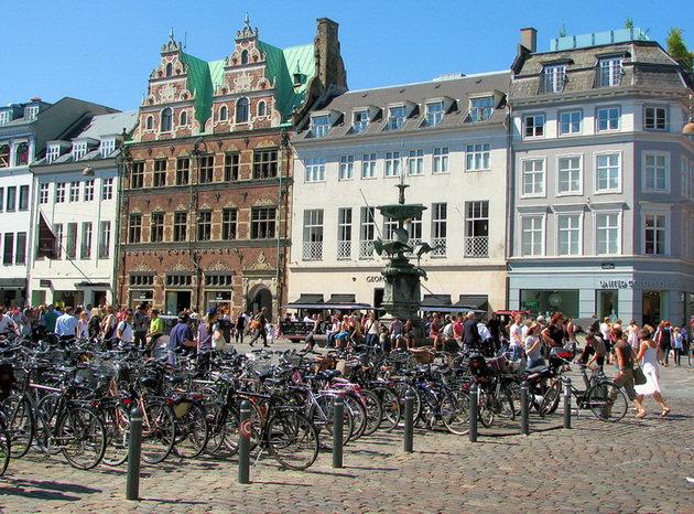 прокат велосипедов в копенгагене дания