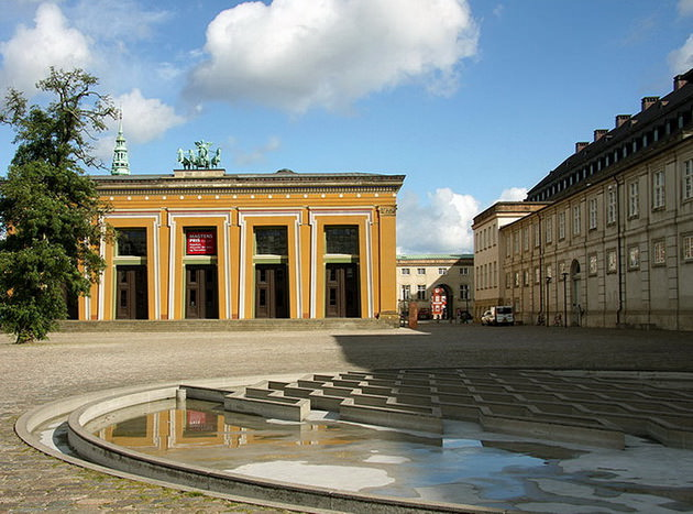 Музей Торвальдсена. Копенгаген. Дания
