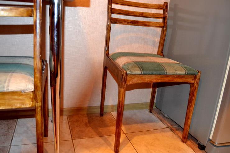 Как отреставрировать стулья своими руками фото