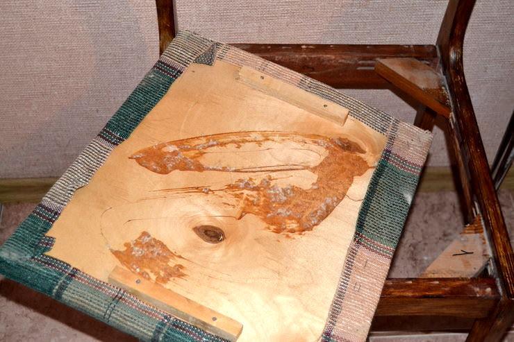 Мастер-класс: как обновить обивку старого стула своими руками