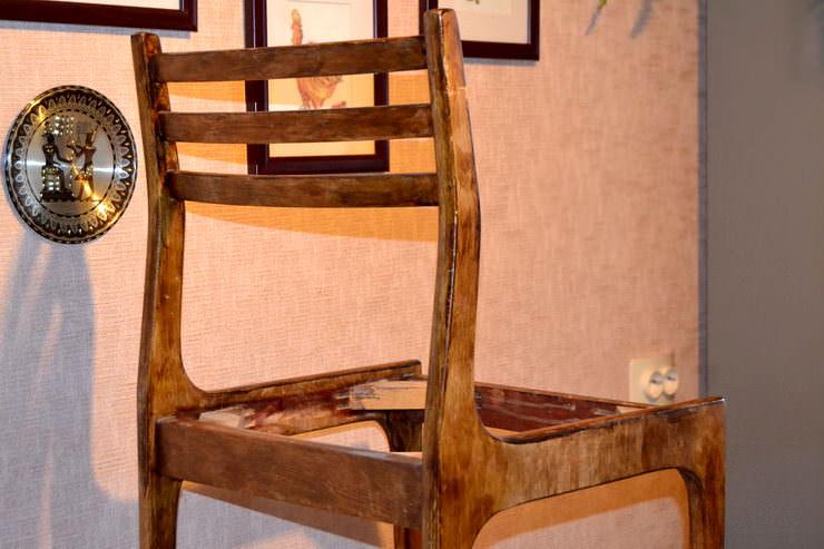 Мастер-класс: как перетянуть старый стул своими руками