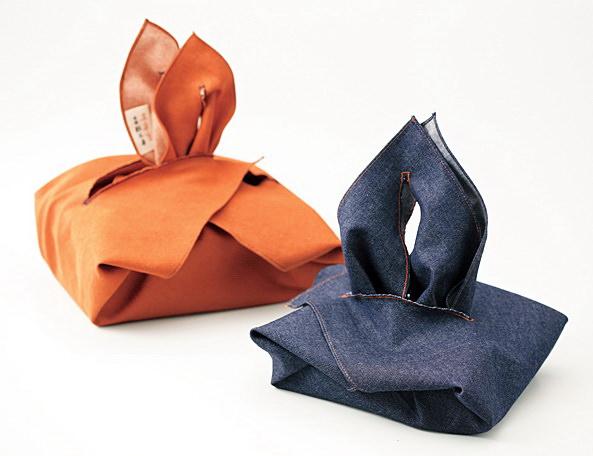 Упаковка подарков на Новый год своими руками фурошики