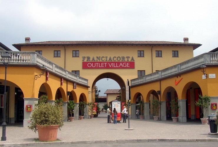 Franciacorta Outlet Village (Аутлет Франчакорта) в Милане