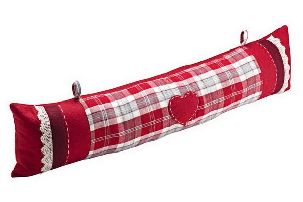 подвесная подушка на дверь от сквозняков
