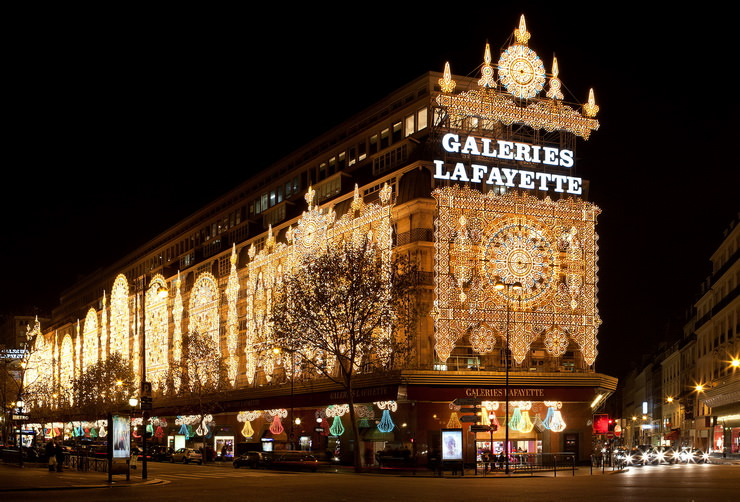 Галерея Лафайет распродажи во Франции