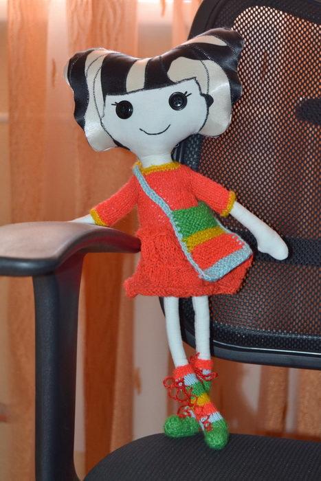 Кукла Lalaloopsy своими руками
