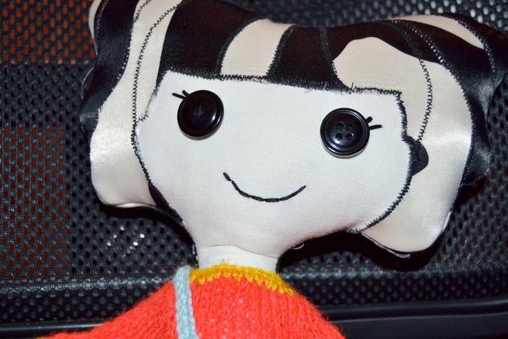 Лицо куклы Лалалупси