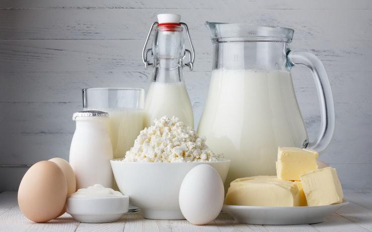 Домашняя экологически чистая молочная продукция