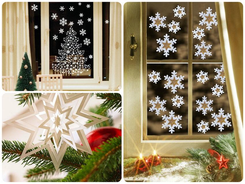 Бумажные снежинки своими руками для новогоднего декора интерьера