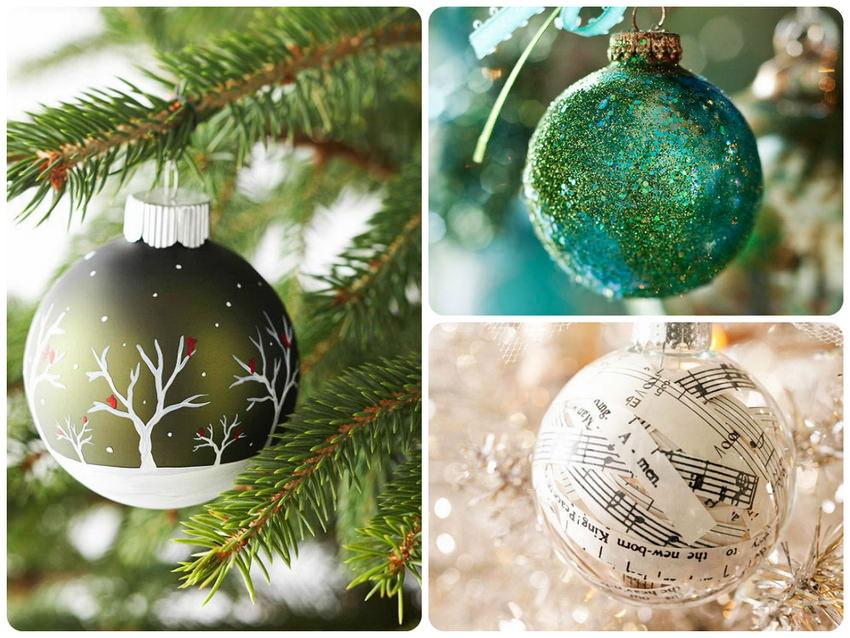 Елочные шары своими руками. Идеи новогоднего декора своими руками
