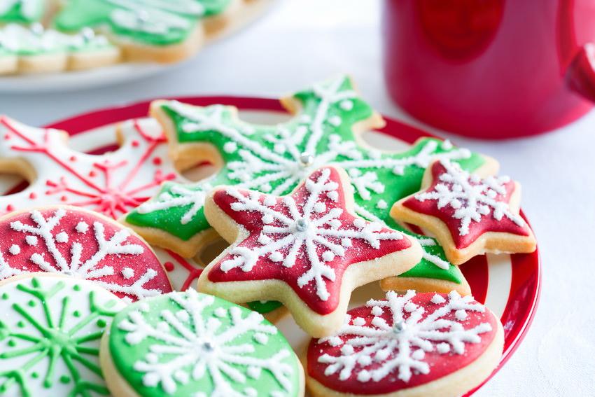 Печенье и выпечка на Новый год