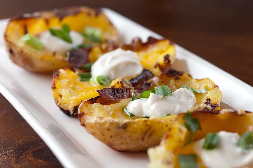Запеченный картофель. Новогодние рецепты