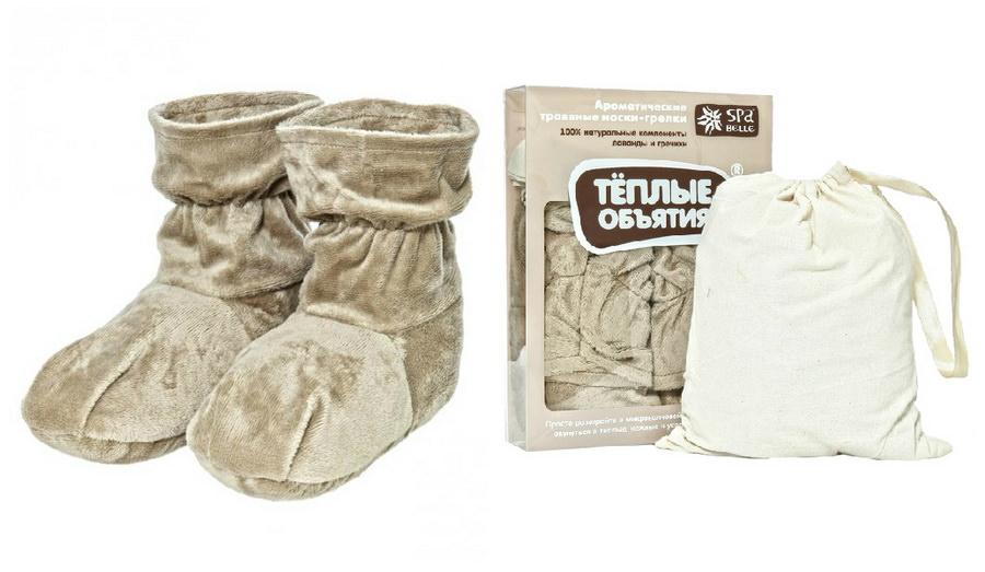 Носки-грелки с ароматическими травами «Теплые объятия»
