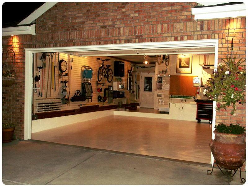 Как навести порядок в гараже?