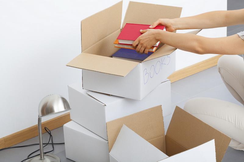 Упаковка книг
