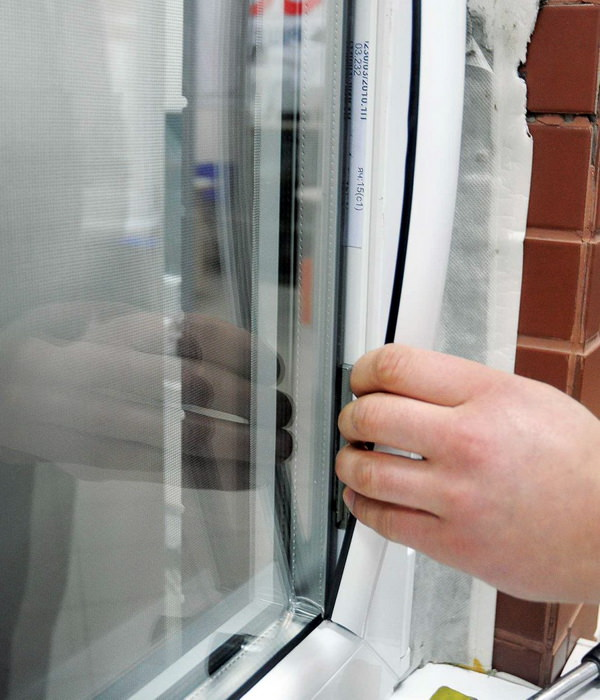 Замена уплотнителей пластиковых окон
