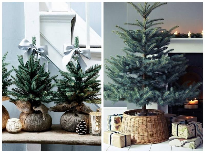 Новогодние елочки в скандинавском стиле