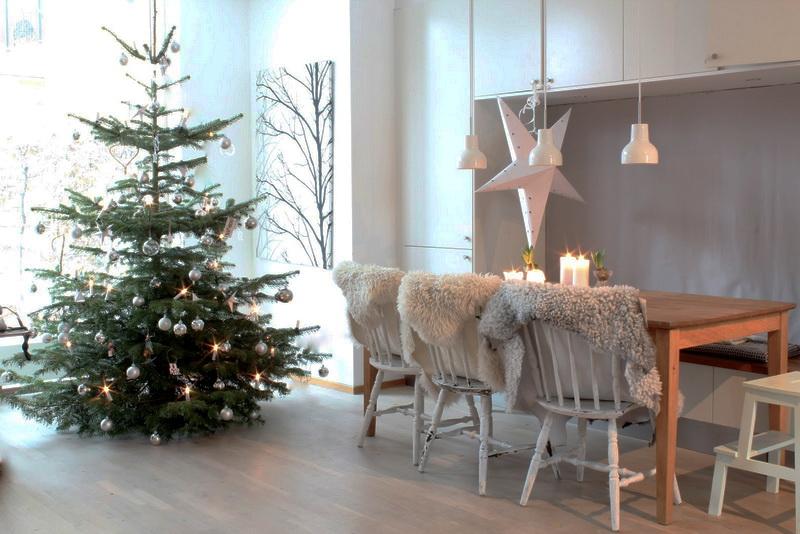 Новогодний скандинавский стиль