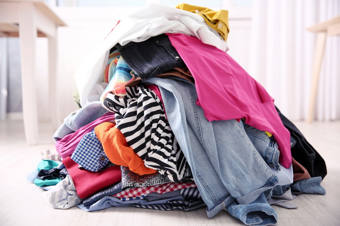 Куча одежды